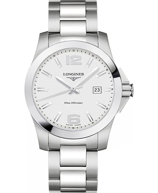 LONGINES L3.759.4.76.6 Conquest Watch 41mm