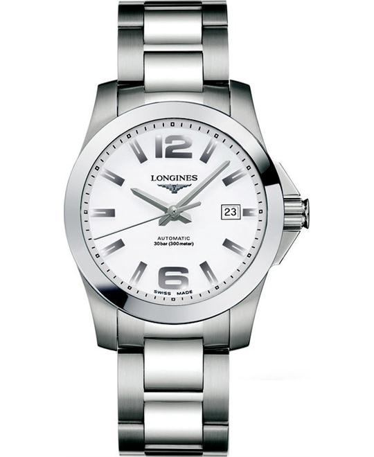 Longines L3.776.4.16.6 Conquest Watch 39mm