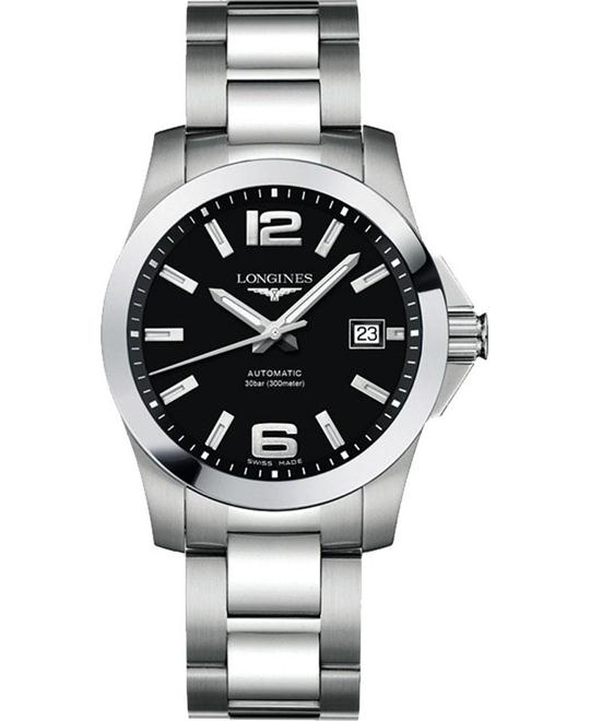 Longines L3.776.4.58.6 Conquest Watch 39mm