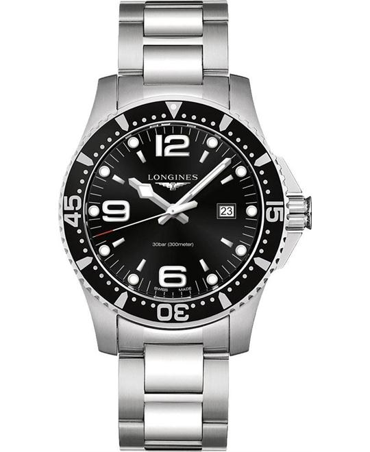 Longines L3.840.4.56.6 HydroConquest Watch 44mm