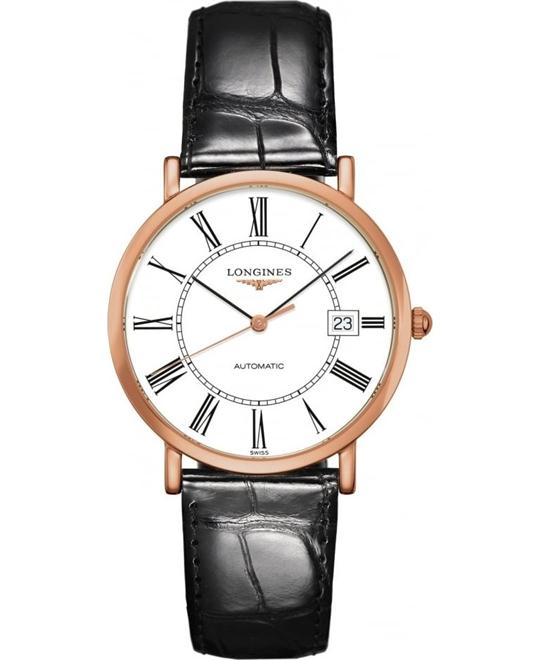 Longines L4.787.8.11.4 Elegant Watch 37mm