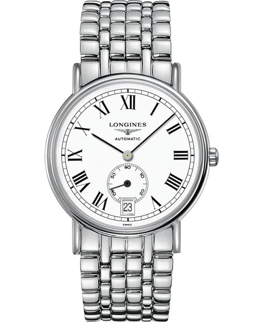 Longines L4.805.4.11.6 Presence Watch 38.5mm