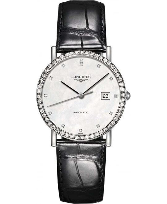 Longines L4.809.0.87.2 Elegant Watch 37mm