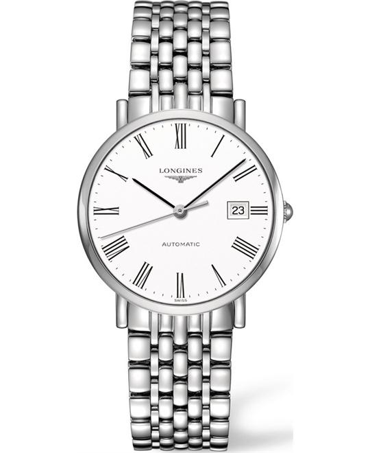 Longines L4.809.4.11.2 Elegant Watch 37mm