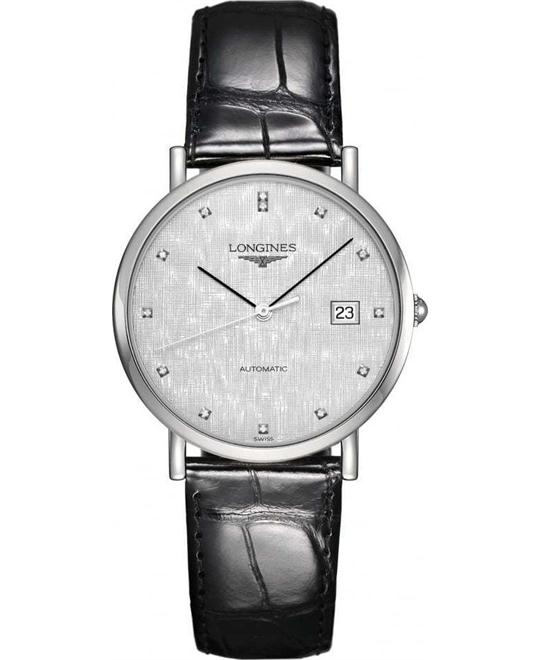 Longines L4.810.4.77.2 Elegant Watch 37mm