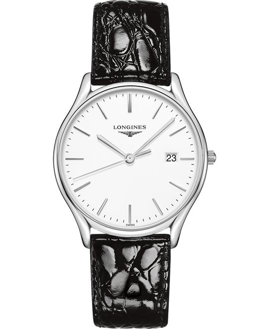 Longines L4.859.4.12.2 Lyre Watch 38.5mm
