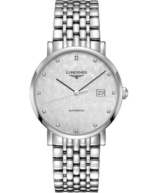 Longines L4.910.4.77.6 Elegant Watch 39mm