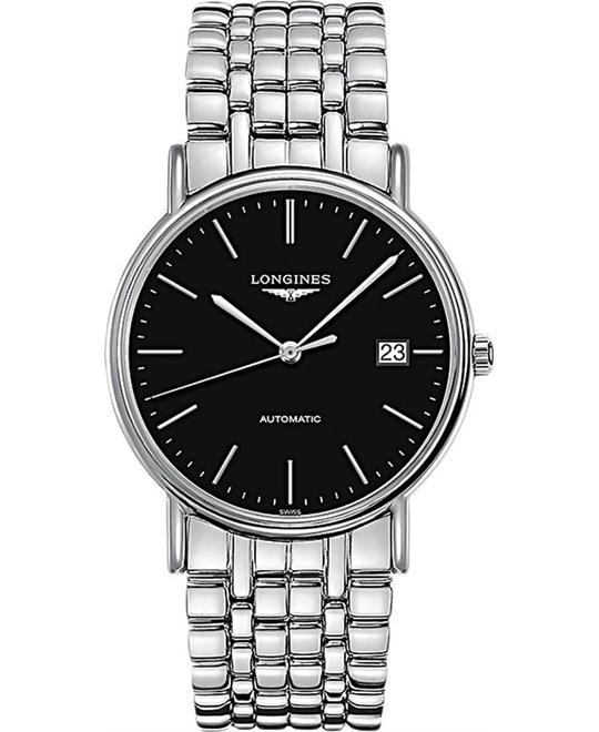 Longines L4.921.4.52.6 Presence Men's Watch 38.5mm