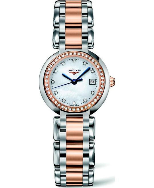 Longines L8.110.5.89.6  PrimaLuna Ladies Watch 26.5mm