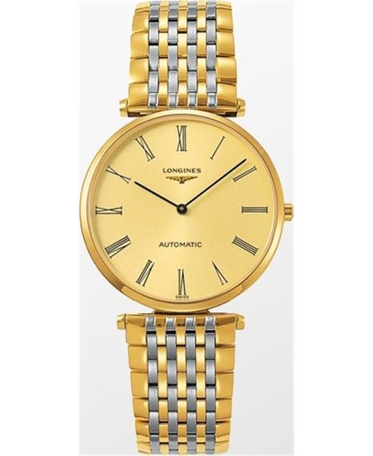 Longines La Grande L4.908.2.31.7 Automatic Watch 36mm