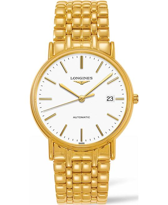 Longines La Grande L4.921.2.12.8 Automatic Watch 38.5mm