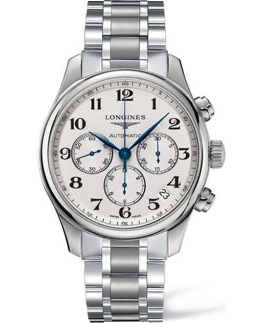 Longines Master L2.693.4.78.6 Automatic Watch 44mm