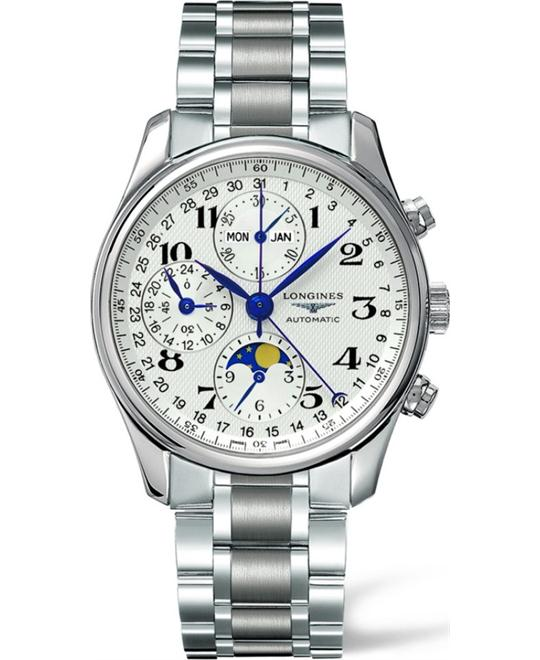LONGINES Master L2.673.4.78.6 Chronograph Watch 40mm