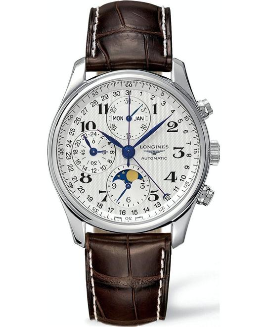 Longines Master L27734783 Chronograph Watch 42mm