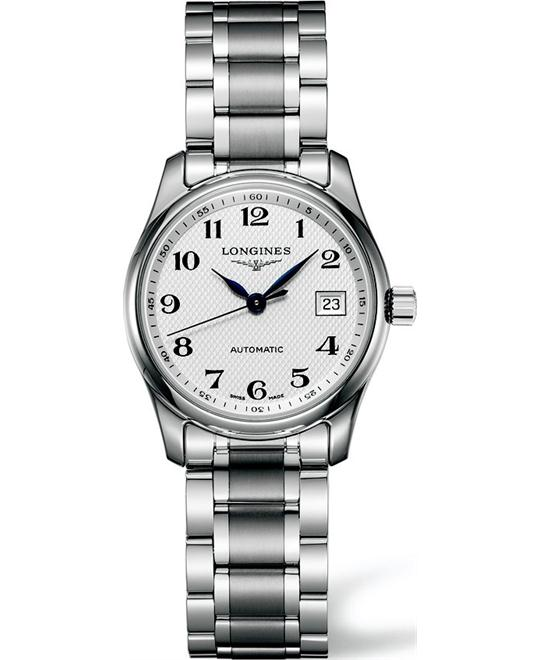 LONGINES Master L2.257.4.78.6 Automatic Watch 29mm