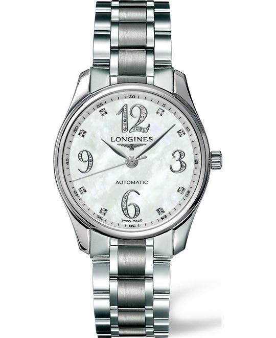 Longines Master L2.518.4.88.6 Automatic Watch 36mm