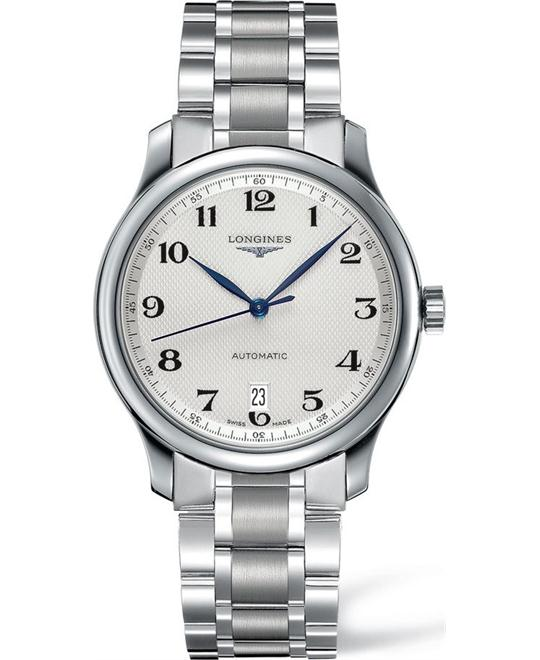 LONGINES Master L2.628.4.78.6 Automatic Watch 38.5mm