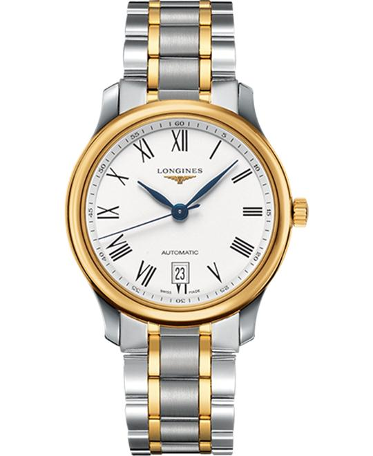 Longines Master L2.628.5.11.7 Automatic Watch 38.5mm
