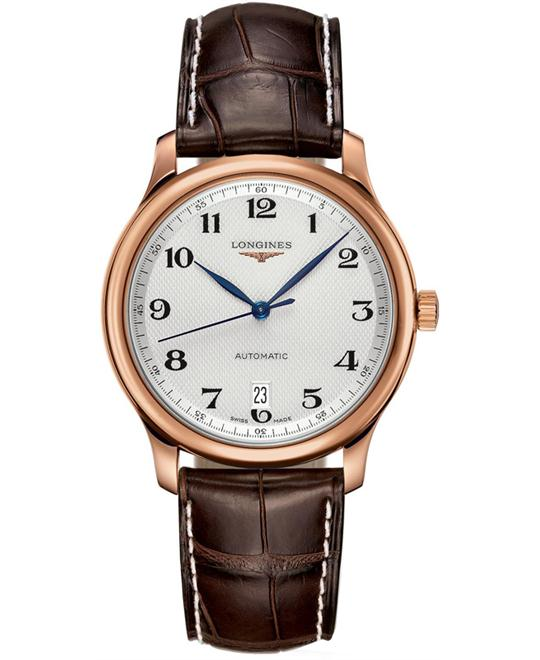 Longines Master L2.628.8.78.5 18K Rose Gold Watch 38.5mm
