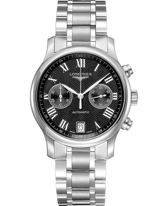 Longines Master L2.669.4.51.6 Automatic Watch 38.5mm