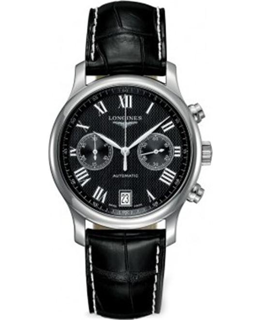 Longines Master L2.669.4.51.7 Chronograph Watch 38.5mm