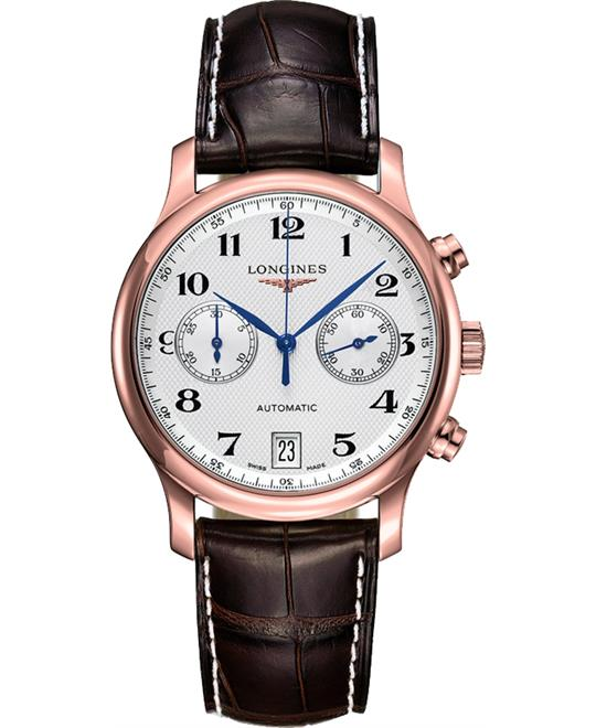 Longines Master L2.669.8.78.3 Watch 38.5mm