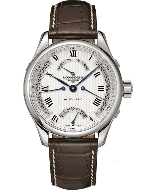 Longines Master L2.715.4.71.3 Automatic Watch 41mm
