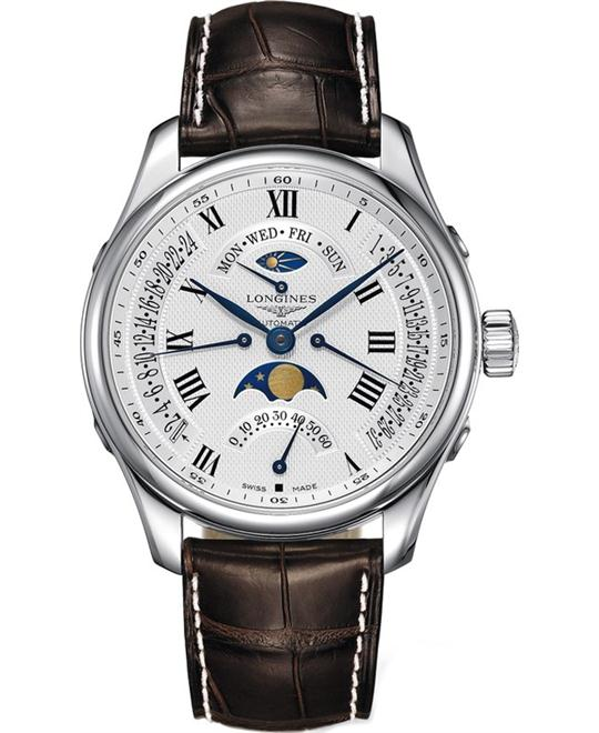 Longines Master L2.739.4.71.3 Automatic Watch 44mm