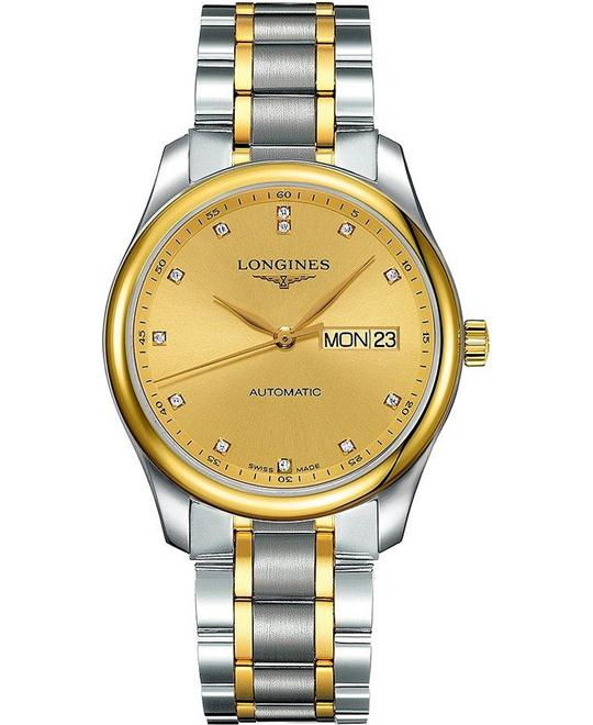 Longines Master L2.755.5.37.7 18k Diamond 38.5mm