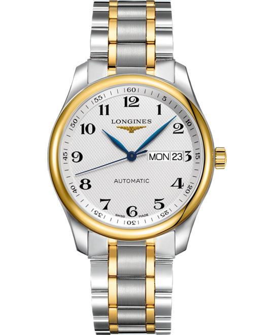 Longines Master L2.755.5.78.7 Automatic Silver Dial Watch 38.5mm