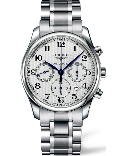 LONGINES Master L2.759.4.78.6 Automatic Watch 42mm