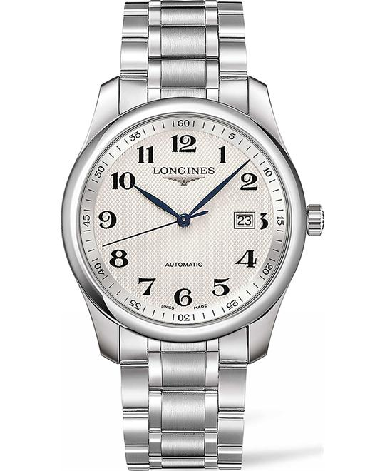 Longines Master L2.793.4.78.6 Swiss Automatic Watch 40mm