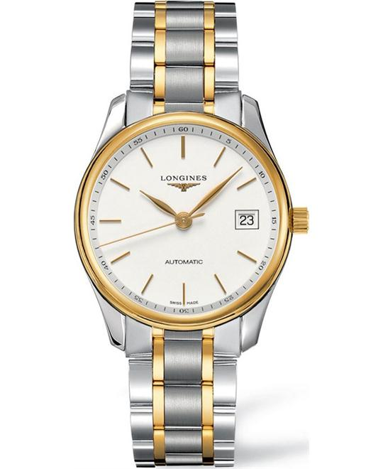 Longines Master L25185127 18K Gold Watch 36mm