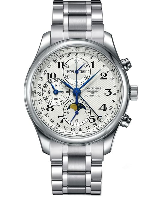 Longines Master L27734786 Chronograph Watch 42mm