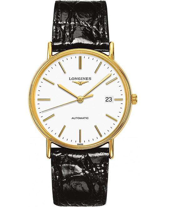 Longines L4.921.2.12.2 Présence Automatic Watch 38.5mm
