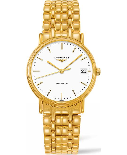 Longines Presence L4.821.2.12.8 Automatic Watch 34mm
