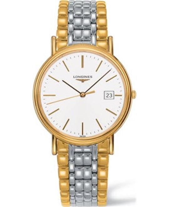 LONGINES Presence L4.790.2.12.7 White Watch 39mm