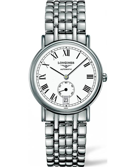 LONGINES Presence  L4.804.4.11.6 Automatic Watch 34mm