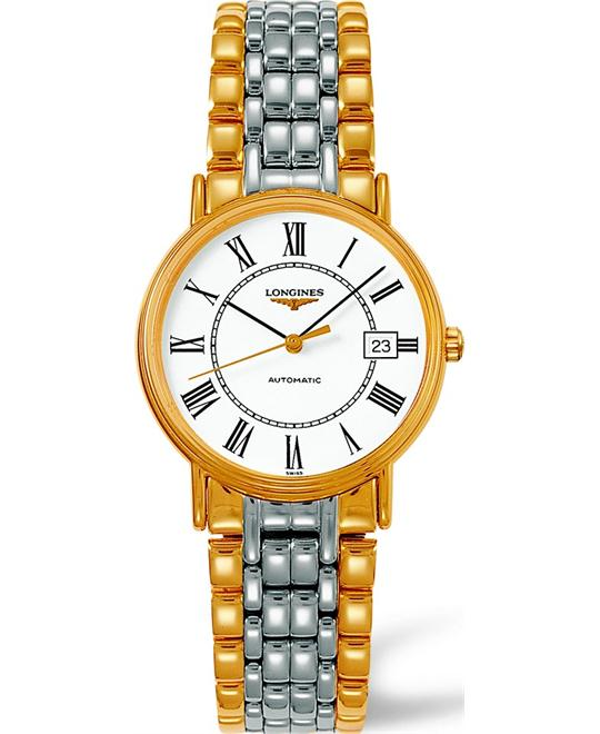LONGINES Presence L4.821.2.11.7 Automatic Watch 35mm