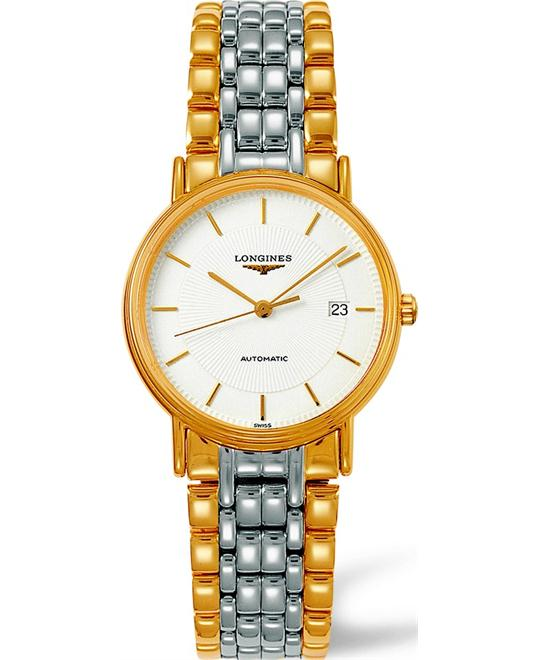 LONGINES Presence L4.821.2.18.7 White Watch 34.5mm