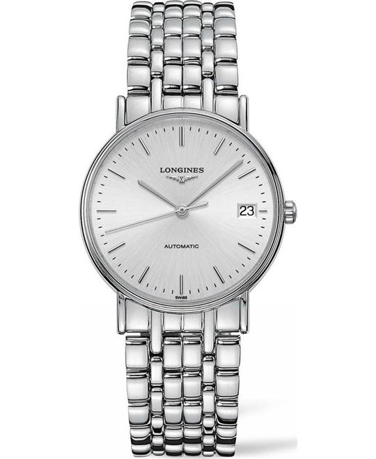 Longines Presence L4.821.4.72.6 Automatic Watch 34.5mm