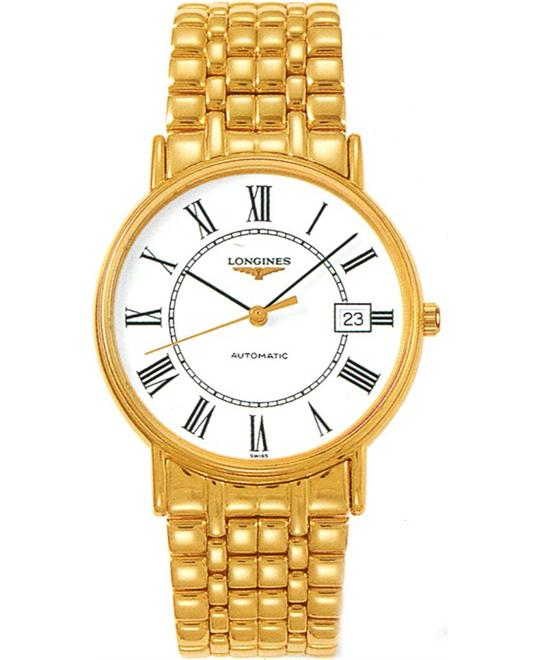 Longines Presence L4.921.2.11.8 Automatic Watch 38.5mm