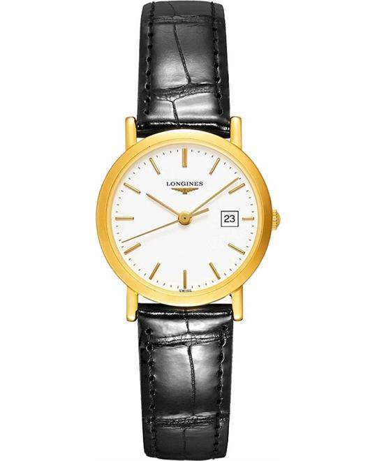 LONGINES Presence L4.777.6.12.2 Ladies Watch 34mm