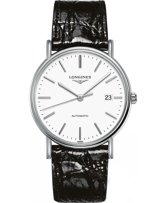 LONGINES Presence White Dial Automatic Men's Watch 38.5mm