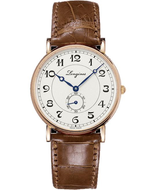 LONGINES PRESENCES L4.785.8.73.2 HERITAGE AUTOMATIC 38MM