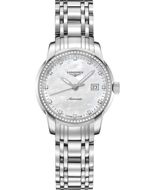 LONGINES Saint Imier L2.563.0.87.6 Mother of Pearl Watch 30mm