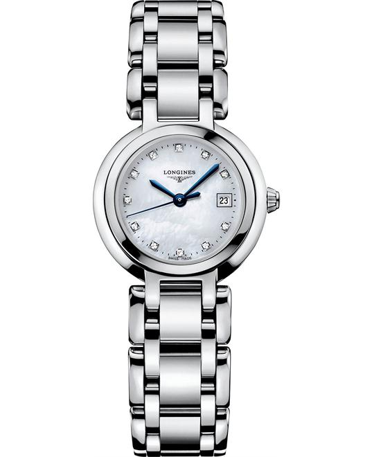 LONGINES PrimaLuna L81104876 Diamond Watch 26.5mm