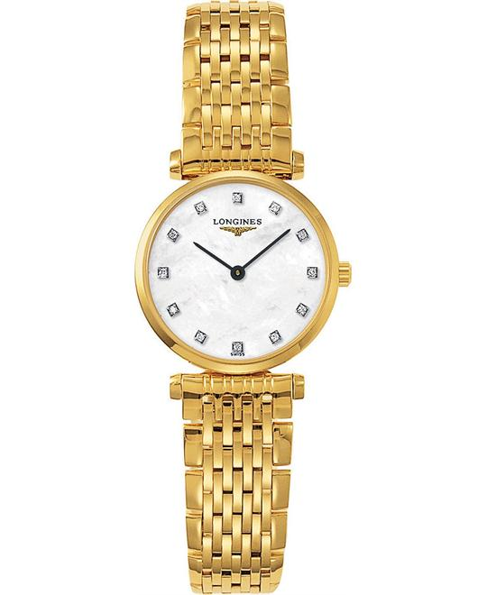LONGINES La Grande L4.209.2.87.8 Diamond Watch 24mm