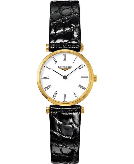 LONGINES La Grande L42092112 PVD Watch 24mm