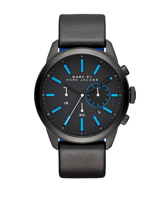 MARC BY MARC JACOBS Dillon Black Dial Men's Watch 43mm